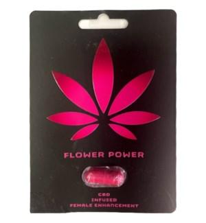 X PILLS - FLOWER POWER #000 FEMALE ENHANCEMENT