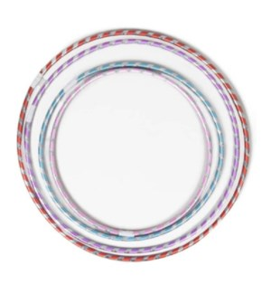 REG #G16970 FUN HULA HOOPS, LASER STRIPE