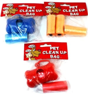 REG #66861 DOGGY CLEAN UP BAGS