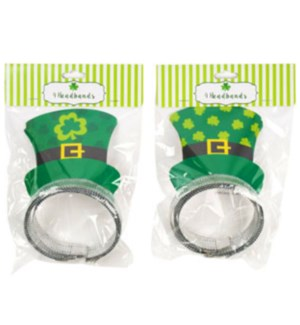 ST. PAT #G86126 HEADBANDS, ASST