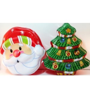 CH-MAS #G91079 COOKIES CONTAINER, ASST SHAPES
