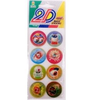 2D MAGIC STIKCERS CO #TD800