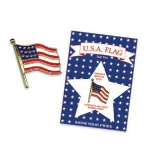 USA DM #FLAG-P FLAG TAC PIN
