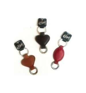 D.M* #CKC-144 LEATHER KEYCHAIN/ASST