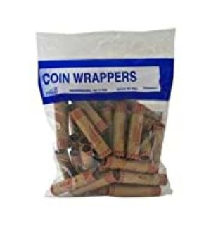 COIN WRAPPERS #1041 PENNIES