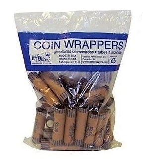 COIN WRAPPERS #1042 NICKELS