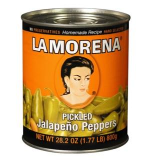 LA MORENA #00011 WHOLE JALAPENO PEPPERS