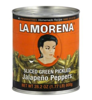 LA MORENA #00031 SLICED JALAPENO PEPPERS