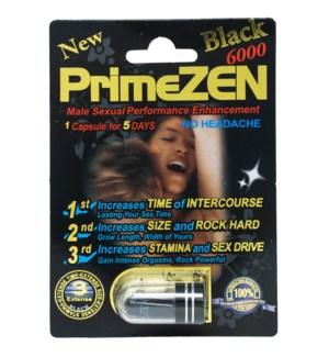 PRIMEZEN BLACK MALE PERFORMANCE ENHANCEMENT