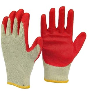 GLOVE #02410 RED INDUSTRUAL GLOVES