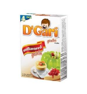 D-GARI #01301 UNFLAVORED GELATIN