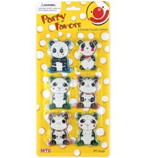 MTC #PF-1040 PANDA PUZZLE GAMES