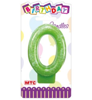 MTC #PF-2335 CANDLE #0 GLITTERED