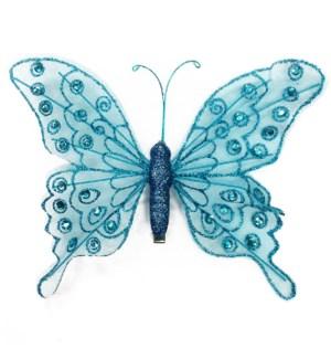 MTC #PF-4496 BUTTERFLY CLIP, BLUE