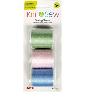MTC #PF-4652 SEWING THREAD PASTEL COLOR