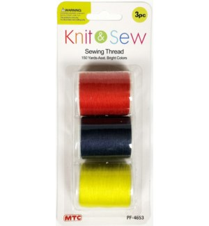 MTC #PF-4653 SEWING THEEAD BRIGHT COLOR