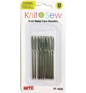 MTC #PF-4696 METAL YARN NEEDLES