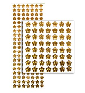 MTC #PF-4730 FLOWER RHINESTONE STICKERS