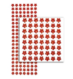 MTC #PF-4732 FLOWER RHINESTONE STICKERS