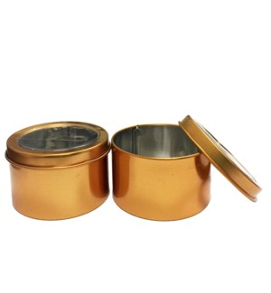 MTC #PF-4941 TIN BOXES, GOLD