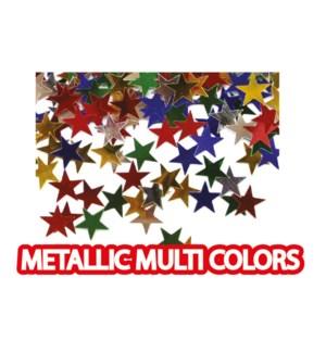 MTC #PF-6761 STAR CONFETTI METALLIC COLOR