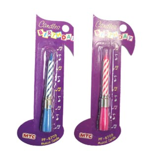 MTC #PF-8709 MUSICAL CANDLE