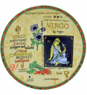 PLATE #GE102 W/ZODIAC SIGN