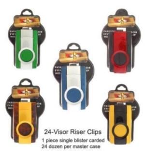 EYEWEAR VISOR RISER CLIPS 66952