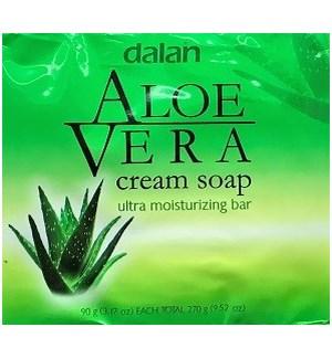 DALAN #13451 ALOE VERA BAR SOAP