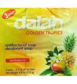 DALAN BAR SOAP #14236 TROPICS GOLDEN