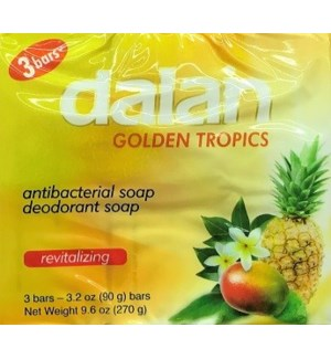 DALAN #14236 TROPICAL FRUITS BAR SOAP