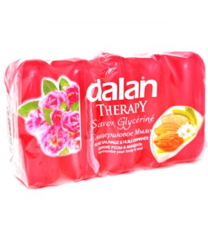DALAN GLYCERINE #538 SOAP WILDROSE&ALMOND