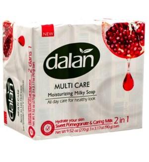 DALAN #23399 SWEET POMEGRANATE BAR SOAP