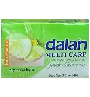 DALAN #23733 CUCUMBER & MILK BAR SOAP