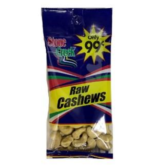 STONE CREEK NUTS #SC9942 RAW CASHEWS