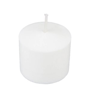 VOTIVE CANDLE #510-72-4 WHITE