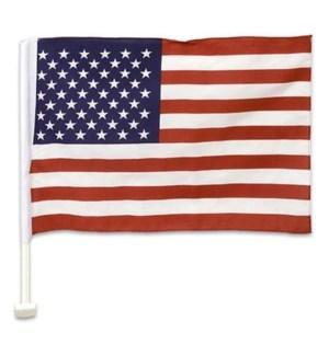 AMERICAN FLAG #60201 W/CAR HOLDER
