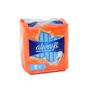 ALWAYS PADS #2980 REGULAR DRY
