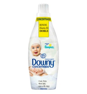 DOWNY PAMPERS WHITE SOFT & GENTLE
