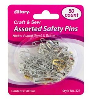 A0321-00 SAFETY PINS ASST SIZES