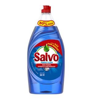 SALVO DISH SOAP #10988 POWER CLEAN