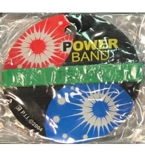 WRIST BAND #BR-186/ASST POWER