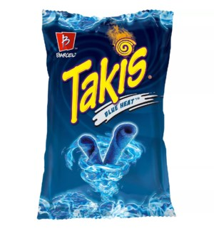 BARCEL CHIPS #4679 TAKIS BLUE HEAT HOT CHI.PEP