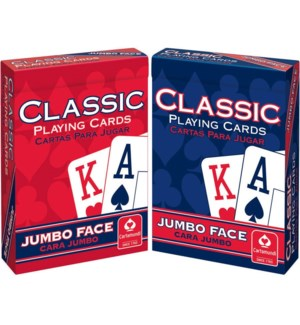 CLASSIC JUMBO PLAYING CARDS