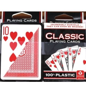 CLASSIC PLAYING CARDS PLASTIC
