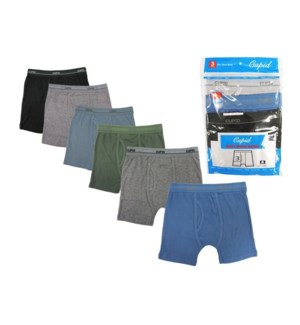 BOY'S BRIEFS #BC312/BH/ASST COTTON