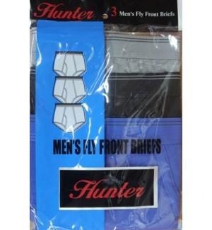 MEN'S BRIEFS #M401/BH/ASST W/FRONT OPENNING