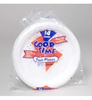 GOOD TIME #42835 FOAM PLATE 10*1/4