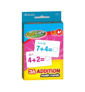 BAZIC #532 FLASH CARDS/ADDITION