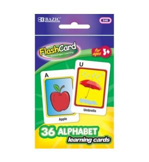 BAZIC #548 FLASH CARDS/ALPHABET
